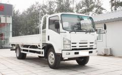 Isuzu 700P ELF bulk goods transport truck