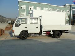 Isuzu 100P cargo truck crew cabin