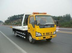 Isuzu Elf road wrecker truck 4tons