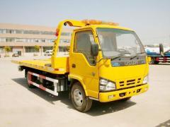 Isuzu 600P road rescue truck
