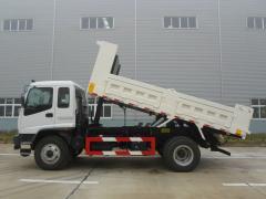 Isuzu FVR soil transportation truck