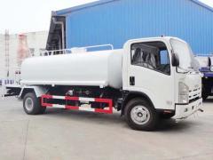 Isuzu 700P water bowser truck 10000L