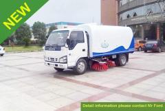 Isuzu 600p road sweeper truck
