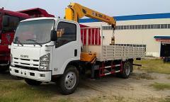 Isuzu Elf Crane loader truck XCMG 5T