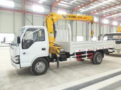 Isuzu 600p truck crane XCMG