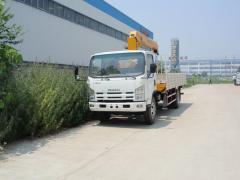 Isuzu 700P crane loader truck XCMG 5T