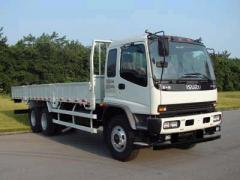 Isuzu truck with crane XCMG 12T