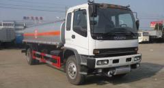 Isuzu oil bowser fuel tanker truck 14000L
