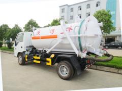 Isuzu 600P cesspool sewage sucking truck 4000L