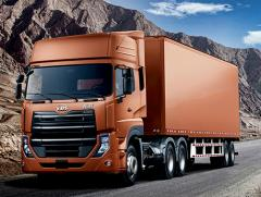 Nissan UD tractor head High fuel efficiency Promising Future