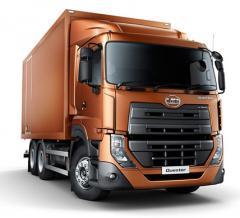 Nissan UD Quester CDE van truck general details