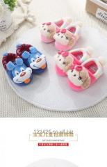 Children's Slippers Boys 1-3 Year Old Boy Baby Winter Girl Cute Little Princess Home Warm Indoor Bag with Cotton Slippers