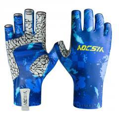Hot sell men women outdoor fishing sports gloves best fly fishing gloves uv sun gloves