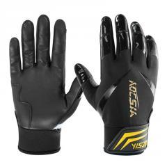 Best selling leather softball gloves men women youth grip baseball batting gloves manufacturer
