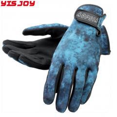 OEM ODM logo neoprene diving gloves amara sports diving swimming gloves