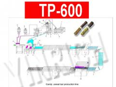 Automatic candy bar/cereal bar Production Line TP600