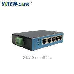 12-48V Power Supply Ethernet Switch1 WAN Port 4 LAN Port Industrial ethernet switch