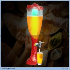 High Quality and capacity container and bucket for beer with LED light Beer Tower