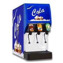 Three valve carbonated drink machines