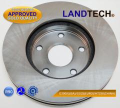 Brake Disc For Toyota V 4351217080/4351217090/31195