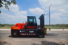 Counter balance heavy duty diesel forklift HNF160 LNG Forklift