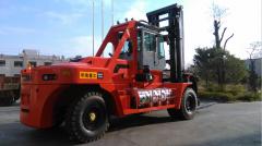Counter balance heavy duty diesel forklift HNF320 LNG Forklift