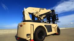 Counter balance heavy duty diesel forklift HNFC120-450 Crane Forklift