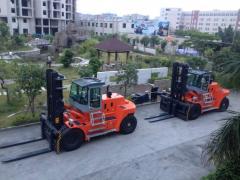 Counter balance heavy duty diesel forklift HNF-250 Full Free Mast Diesel
