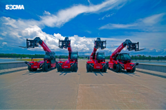 Telescopic Forklift HNT50H 5 tons