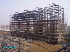 Grand bâtiment de Structure en acier travée pour