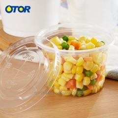 OTOR Free Shipping Disposable Bowl Pudding Jelly