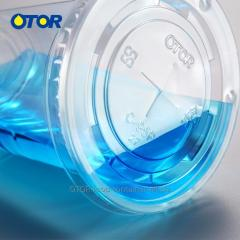 OTOR Cup Cover Disposable PET PP Plastic Switch