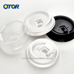 OTOR Cup Cover 50pcs Disposable PP Plastic 80mm