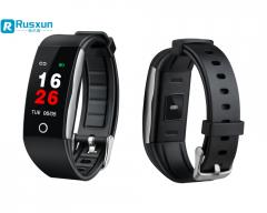 Hot sales color display heart rate smart bracelet