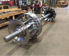Double Francis Turbine, Forging & CNC