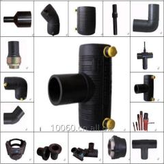 PE electrofusion pipe fittings