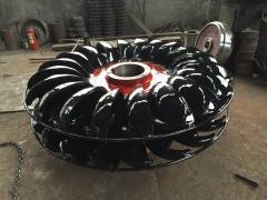 Гидравлические Wheel(runner) турбина пелтона для