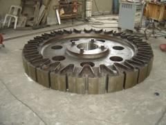 Мини-гидроэлектростанций ветряк-генератор кованые