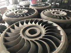 Колесо воды турбина пелтона