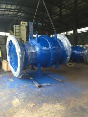 Колесо пелтона электростанции турбины мини-ГЭС