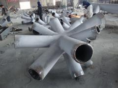 Customized cast steel nodes with high quality