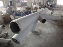 Nodos de medida fundición de acero con alta