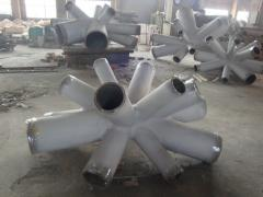 Customized cast steel nodes  ISO 9001:2008
