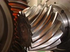 Gleason спиральных конических снастей для редуктор