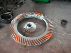 Новый дизайн Глисон спиральных конических снастей