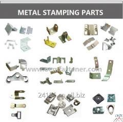 Metal parçalar damgalama