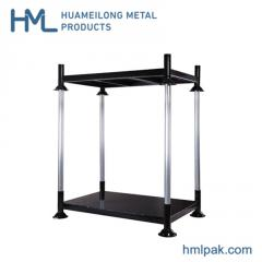 Heavy duty adjustable stacking industrial movable