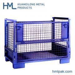 T-7 ذخیره سازی ظرف پالت های فولادی برای قطعات