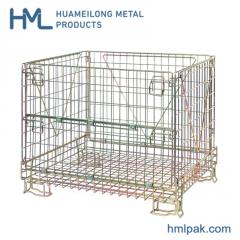 European stackable collapsible steel wire mesh