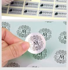 Custom design matt silver PET stickers,customized die cut shape self adhesive electronic product CE ROHS safty stickers